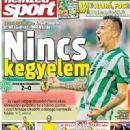 Nemzeti Sport - Nemzeti Sport Magazine Cover [Hungary] (28 August 2014)