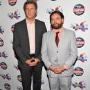"Will Ferrell and Zach Galifianakis at ""The Campaign"" New York City premiere at Landmark's Sunshine Cinema (July 25)"
