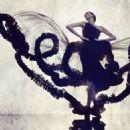 Coco Rocha for Christian Siriano Silhouette Fragrance 2014 ad campaign