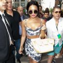 Demi Lovato Arrives At The Gansevoort In Nyc