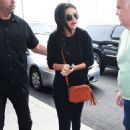 Selena Gomez Arrives At Jfk Airport In Nyc