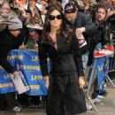 """Demi Moore - Mar 24 2008 - Arrives At The """"Late Show With David Letterman"""" In New York City"""