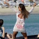 Nicole Scherzinger On Yacht In Mykonos 08/02/2016 - 454 x 568