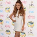 Ariana Grande attends FOX's 2014 Teen Choice Awards at The Shrine Auditorium on August 10, 2014 in Los Angeles, California