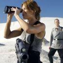 Stephen Hogan as Sky Marshal Omar Anoke in Starship Troopers 3: Marauder (2008) - 454 x 255