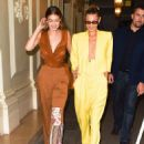 Gigi and Bella Hadid – Arrives at 'The Americans In Paris' Event in Paris