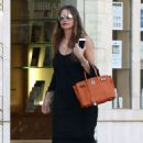 Sofia Vergara in Long Black Dress Out in Beverly Hills - 454 x 681