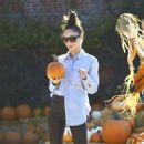 Cara Santana -Seen at Pumpkin Patch In Los Angeles - 454 x 515