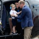 The Duke & Duchess of Cambridge Visit the Royal International Air Tattoo - 394 x 600