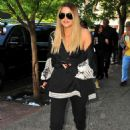Khloe Kardashian out for lunch in New York City