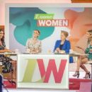 Christine Bleakley at 'Loose Women' TV show in London - 454 x 345