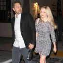 Amanda Seyfried and Thomas Sadoski – Leaving Pasadena Playhouse in Los Angeles
