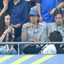 Sir Mick Jagger and his lookalike son Lucas join the rocker's other children Lizzie and James as they watch Portugal claim victory in EURO 2016 Final - 454 x 328