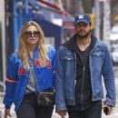 Rachel Hilbert with boyfriend Brett Eldredge out in New York - 454 x 681