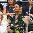 Thandie Newton – 2018 Wimbledon Tennis Championships in London - 454 x 681