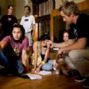 BTS: JON M. CHU, DANIELLE POLANCO, BRIANA EVIGAN, ROBERT HOFFMAN. Photo Credit: Karen Ballard. ©2007 Touchstone Pictures and Summit Entertainment, LLC. All rights reserved. - 454 x 303