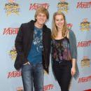 Jason Dolley and Bridgit Mendler