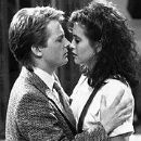 Michael J. Fox and Courteney Cox