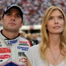Jimmie Johnson and Chandra Janway