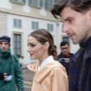 Olivia Palermo out to Fashion Week in Milan - 454 x 681