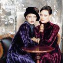 Shalom Harlow & Amber Valletta - Harper's Bazaar 1993