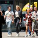 Sophie Turner and Joe Jonas – Out for some lunch in Barcelona - 454 x 353
