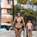 Imogen Thomas Wearing Bikini In Miami