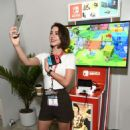 Adelaide Kane – Nintendo Booth at the E3 Gaming Convention in LA - 454 x 682