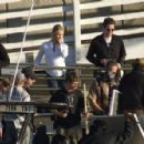 Tom Cruise & Cameron Diaz On Set Of 'Knight & Day' In Long Beach