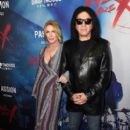 Actress Shannon Tweed and Gene Simmons attend the Premiere of Drafthouse Films'