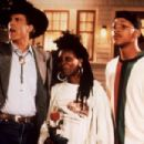 Ted Danson, Whoopi Goldberg and Will Smith in Made in America (1993)