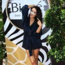 Shay Mitchell – Launch of The Biore Animal Print Pore Strips in LA - 454 x 665