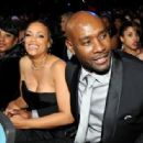 Morris Chestnut-February 22, 2014-45th NAACP Image Awards Presented By TV One - Backstage And Audience