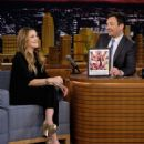 Drew Barrymore At The Tonight Show Starring Jimmy Fallon - 454 x 573