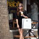 Selma Blair in Black Shorts – Shopping in Los Angeles - 454 x 594