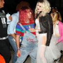 Bella Thorne – Arrives to Halloween party in Los Angeles - 454 x 633