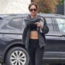 Dakota Johnson – Leaves pilates in Los Angeles