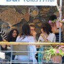 Vanessa Hudgens and Austin Butler mingled with model Luciana Gimenez Morad and her son Lucas Jagger in Portofino, Italy - 19 June 2016 - 403 x 600