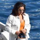 Selena Gomez on holiday on the Amalfi Coast