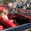 David Hasselhoff and Hayley Roberts (I)