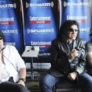 Tommy Thayer, Gene Simmons and Eric Singer attend SiriusXM's Entertainment Weekly Radio Channel Broadcasts From Comic-Con 2015 at Hard Rock Hotel San Diego on July 9, 2015 in San Diego, California.