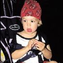 Little Lucas Jagger at Rolling Stones show - 2002