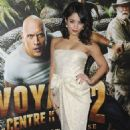 Vanessa Hudgens at the  'Journey 2: The Mysterious Island' Paris Premiere