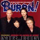 Paul Gilbert, Eric Martin, Pat Torpey, Billy Sheehan - Burrn! Magazine Cover [Japan] (March 2009)