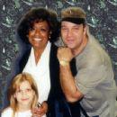 Barbara McNair with Nephew John Thomas and Niece Michelle Thomas - 357 x 351