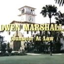 Owen Marshall: Counselor at Law