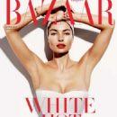 Jessica Hart Harpers Bazaar Australia Magazine Junejuly 2014