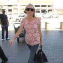 Sharon Stone: shop in LAX