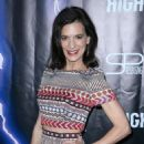 Perrey Reeves – 'High Voltage' Premiere in Los Angeles
