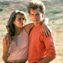 Lori Singer and Kevin Bacon in Footloose (1984)